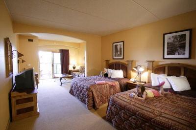Junior Suite at Chula Vista Resort in the Wisconsin Dells