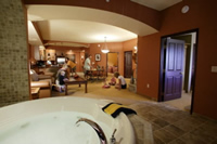 2 bedroom condo at Chula Vista Resort in the Wisconsin Dells
